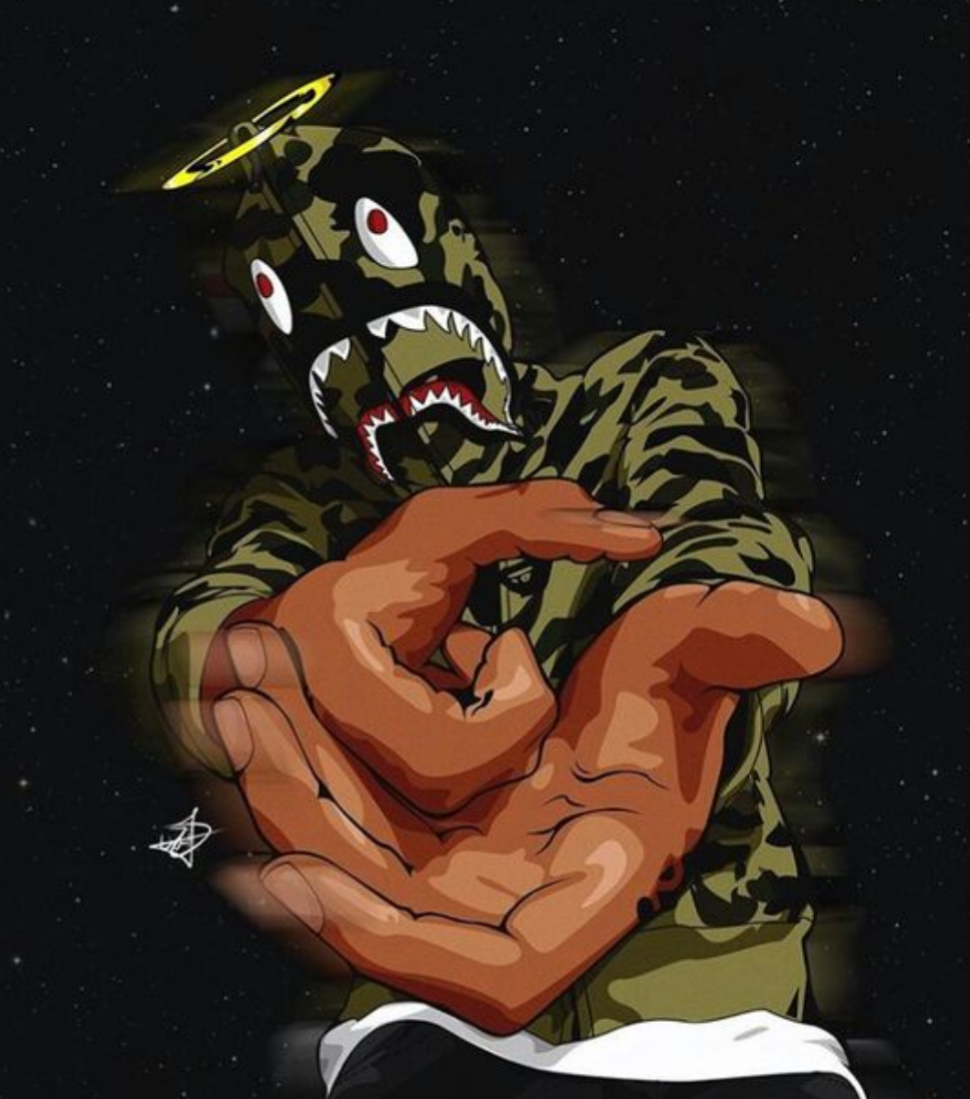 Bape Shark Images Is Cool Wallpapers
