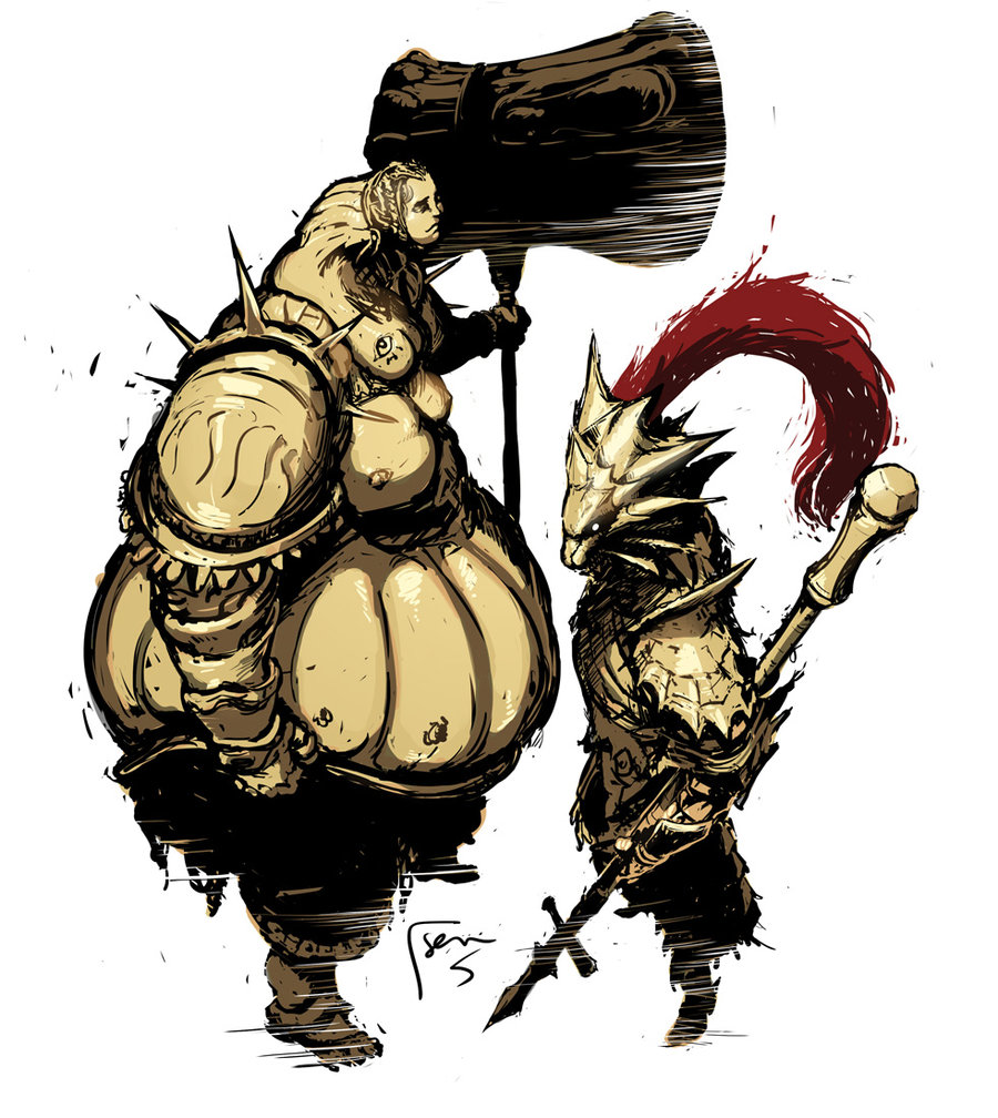 Dark Souls Ornstein And Smough Wallpapers Is Cool Wallpapers