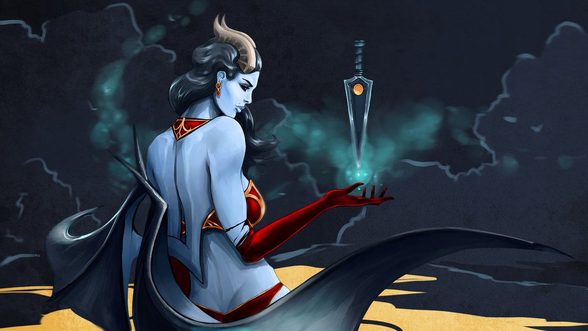 Dota 2 Queen Of Pain Picture Is Cool Wallpapers