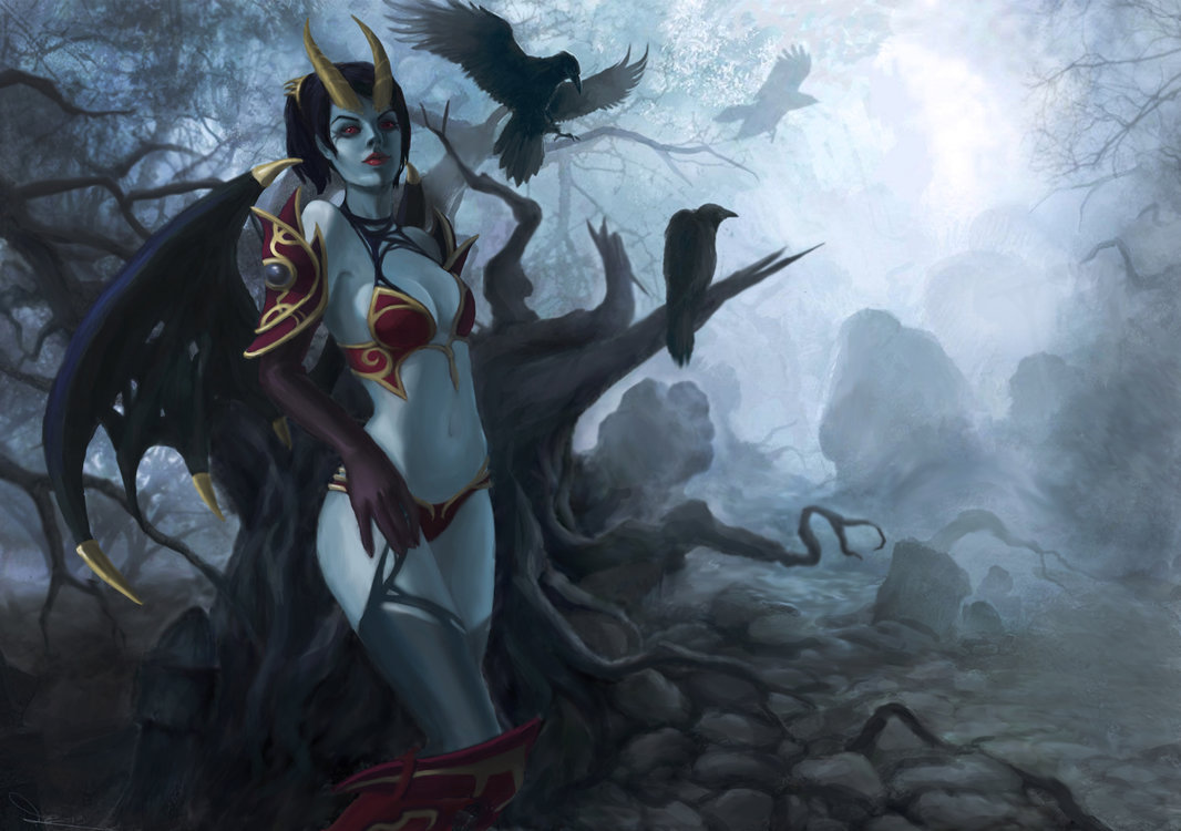 Dota 2 Queen Of Pain Wallpaper For Iphone | Gaming HD ...