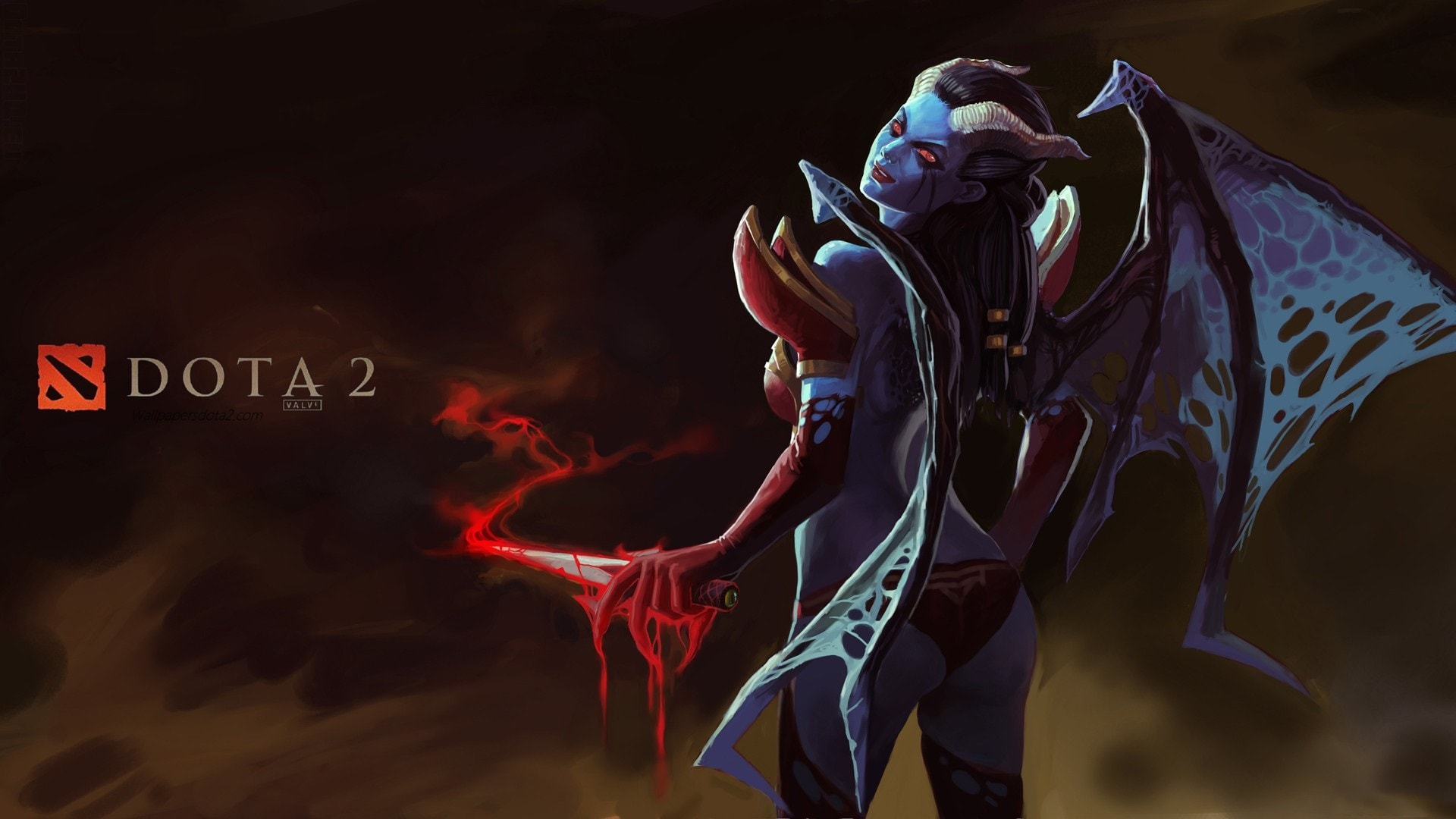 Dota 2 Queen Of Pain Wallpaper Mobile Is Cool Wallpapers