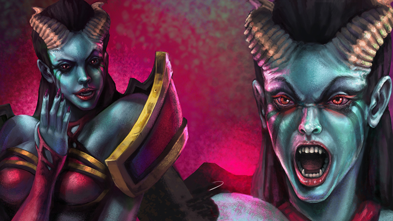 Dota 2 Queen Of Pain Wallpapers 1080p Is Cool Wallpapers