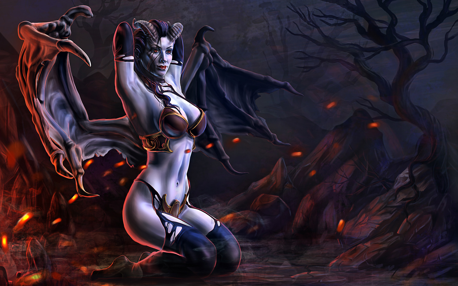 Dota 2 Queen Of Pain Wallpapers Mobile Is Cool Wallpapers