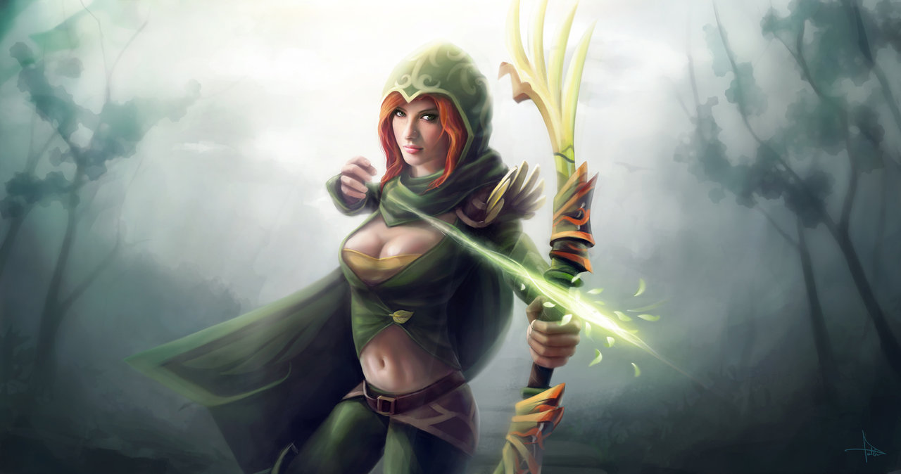 Dota 2 Windrunner Wallpapers For Iphone Is Cool Wallpapers