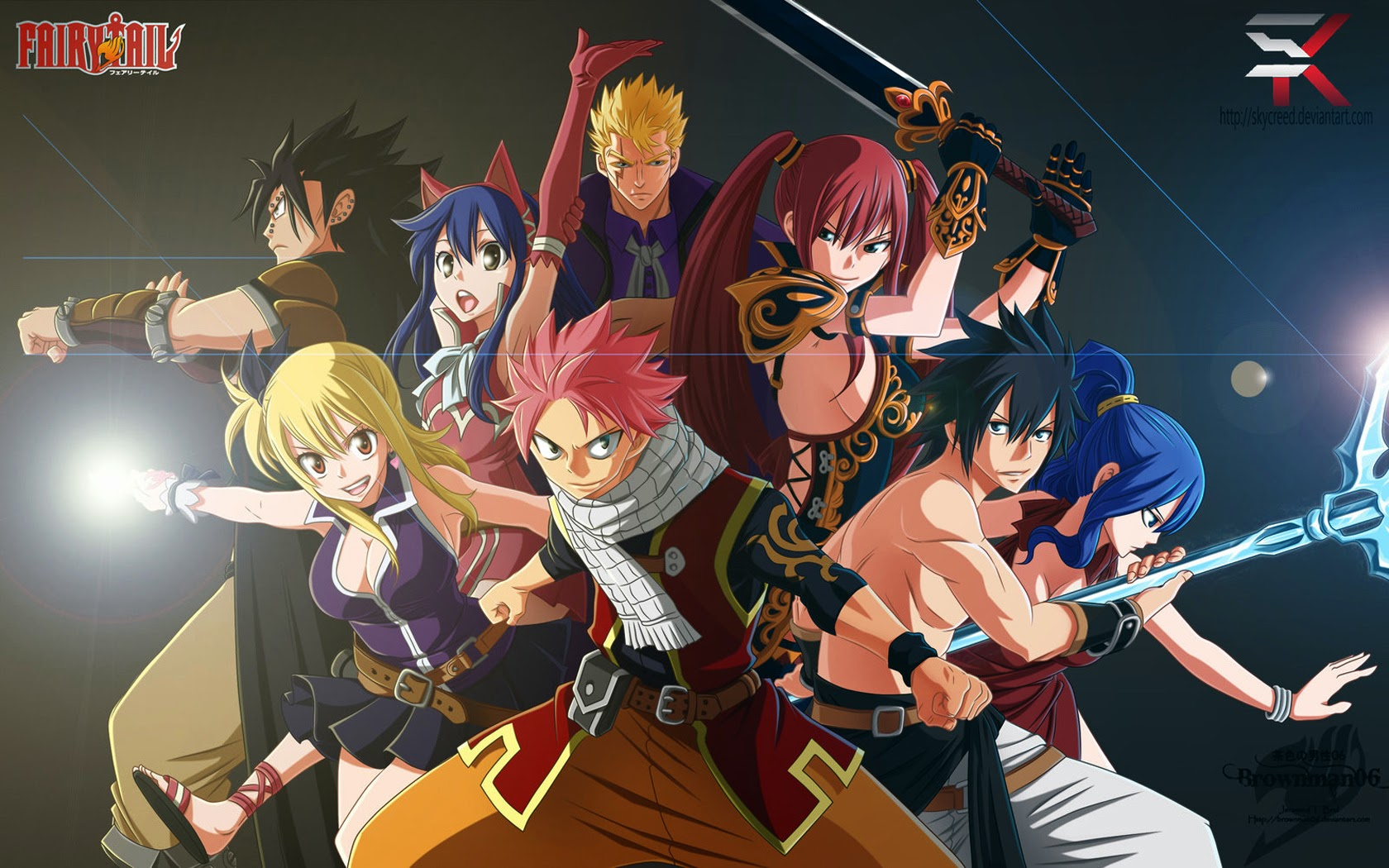Fairy Tail Natsu And Lucy Wallpapers Hd Is Cool Wallpapers
