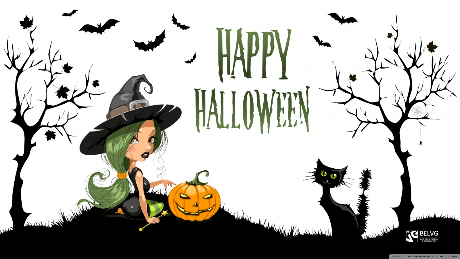 Halloween Witch Wallpaper Wide Is Cool Wallpapers