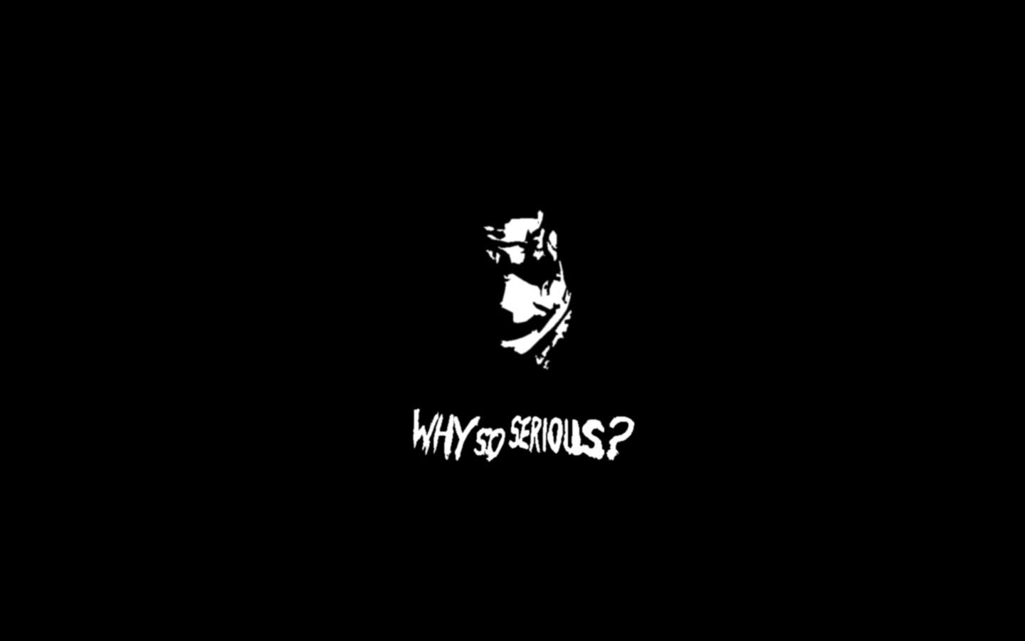 Joker Why So Serious Wallpapers Photo