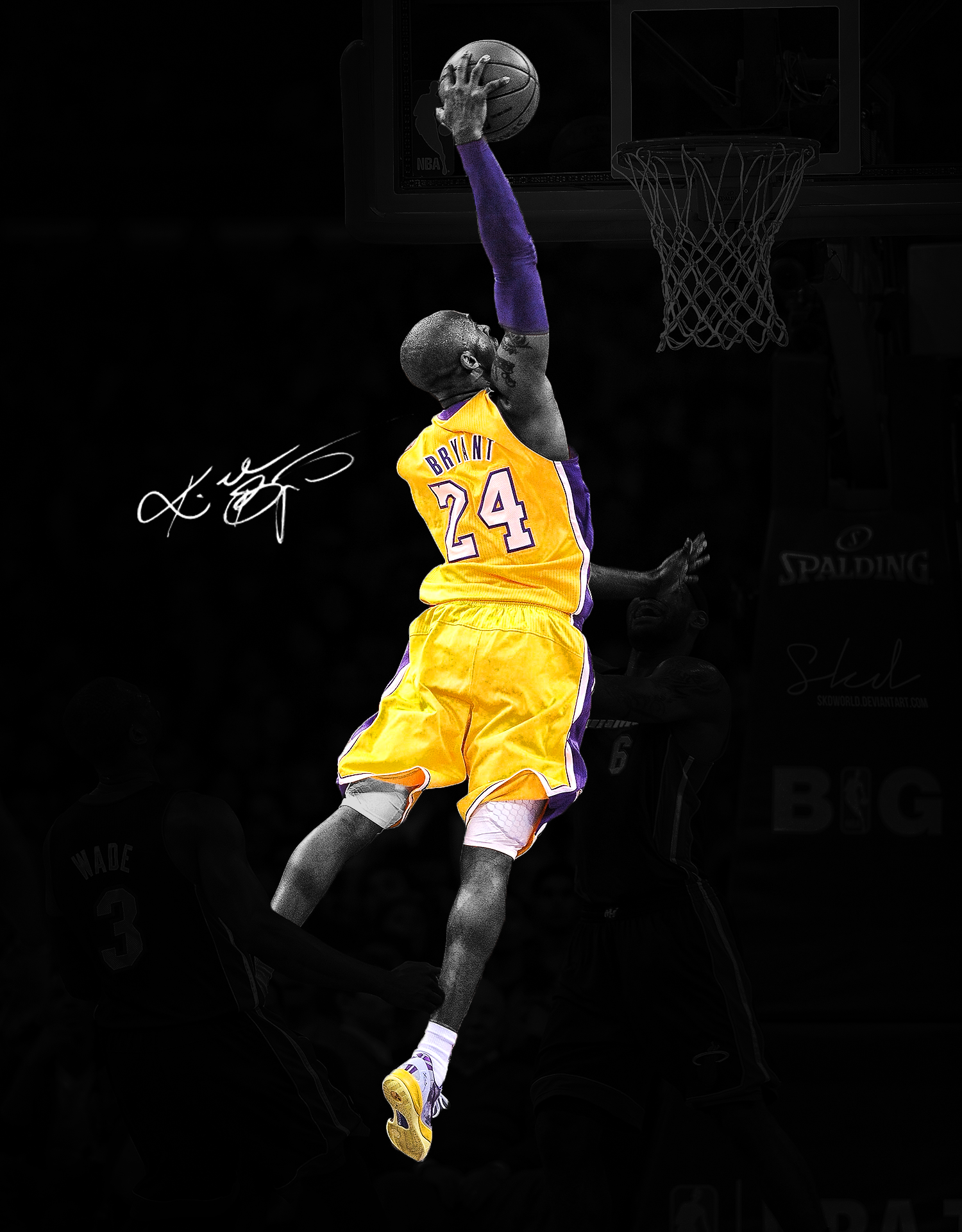 Kobe Bryant Dunk Wallpaper High Quality Is Cool Wallpapers