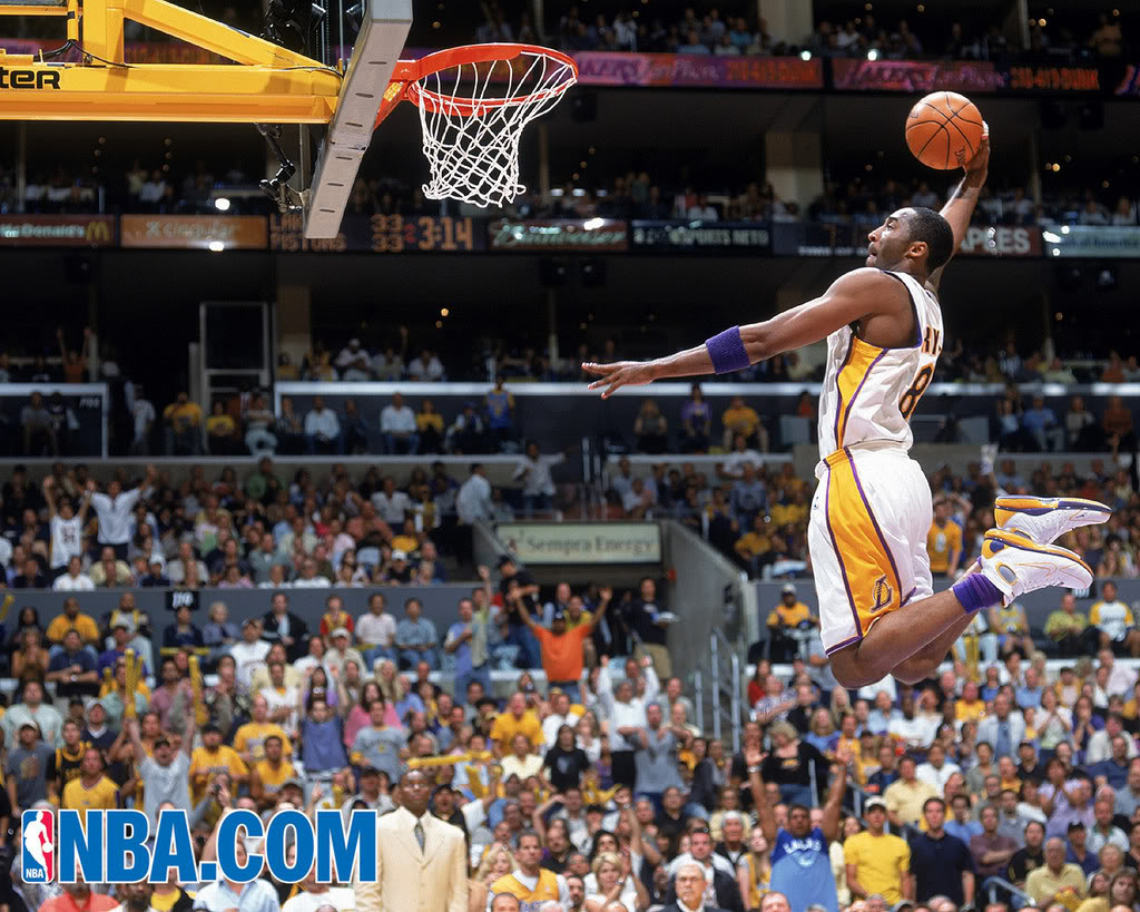 Sports Wallpapers For Android: Kobe Bryant Dunk Wallpapers For Android