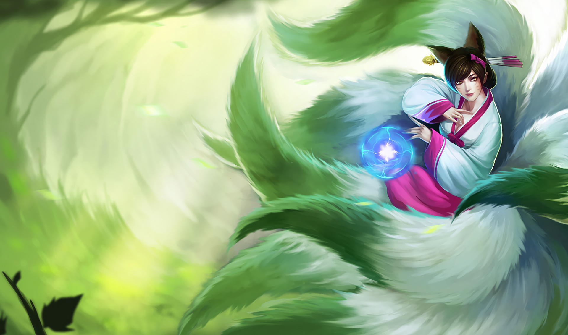 League Of Legends Ahri Wallpaper Mobile Is Cool Wallpapers
