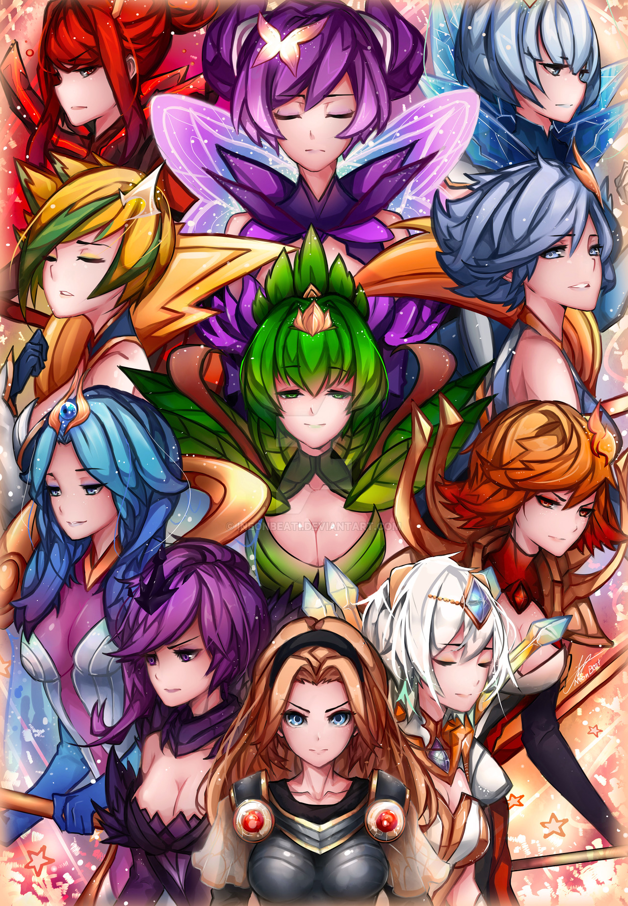League Of Legends Elementalist Lux Wallpapers Free Is Cool Wallpapers