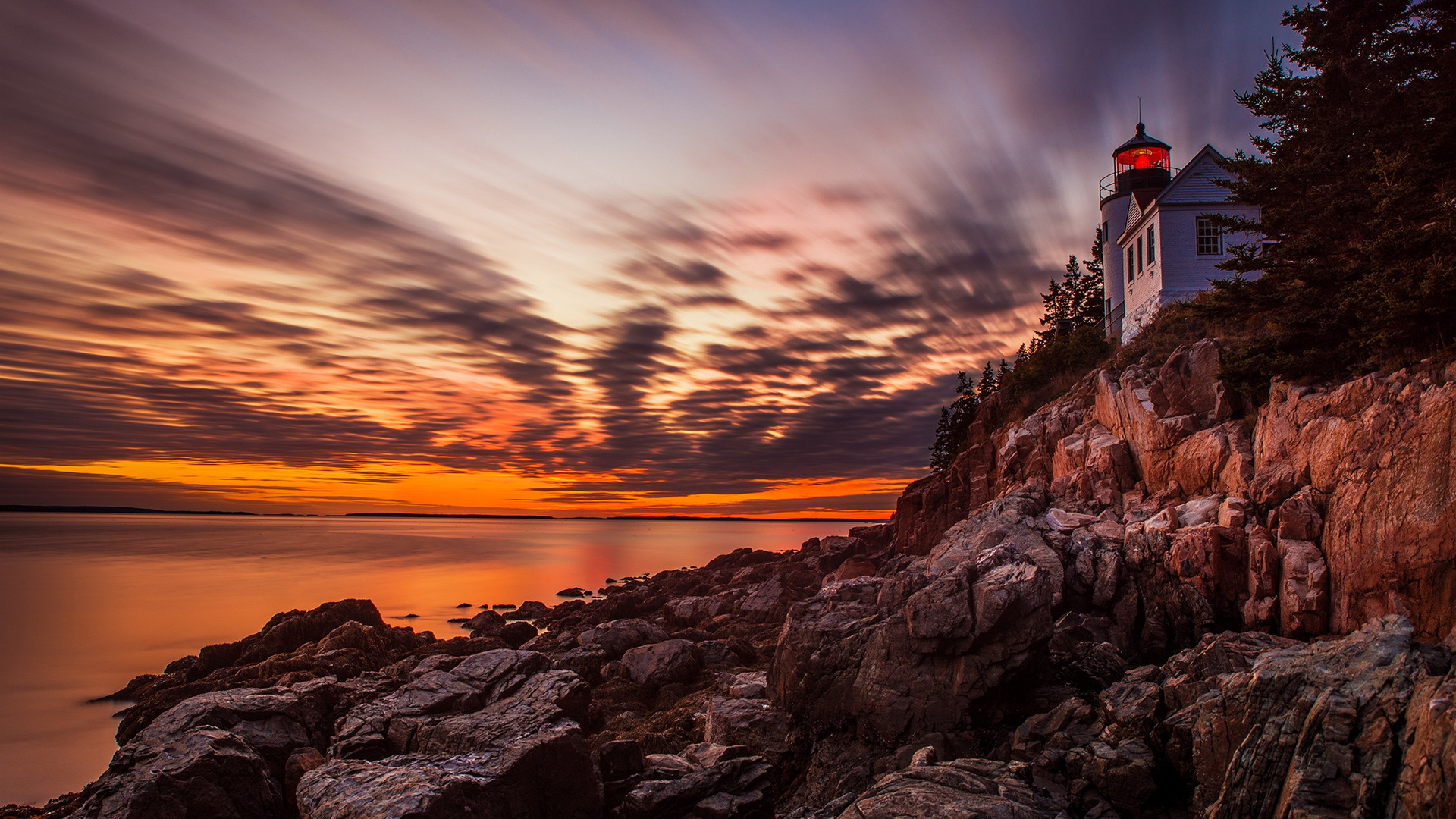 Lighthouse Sunset Wallpaper Full Hd Is Cool Wallpapers
