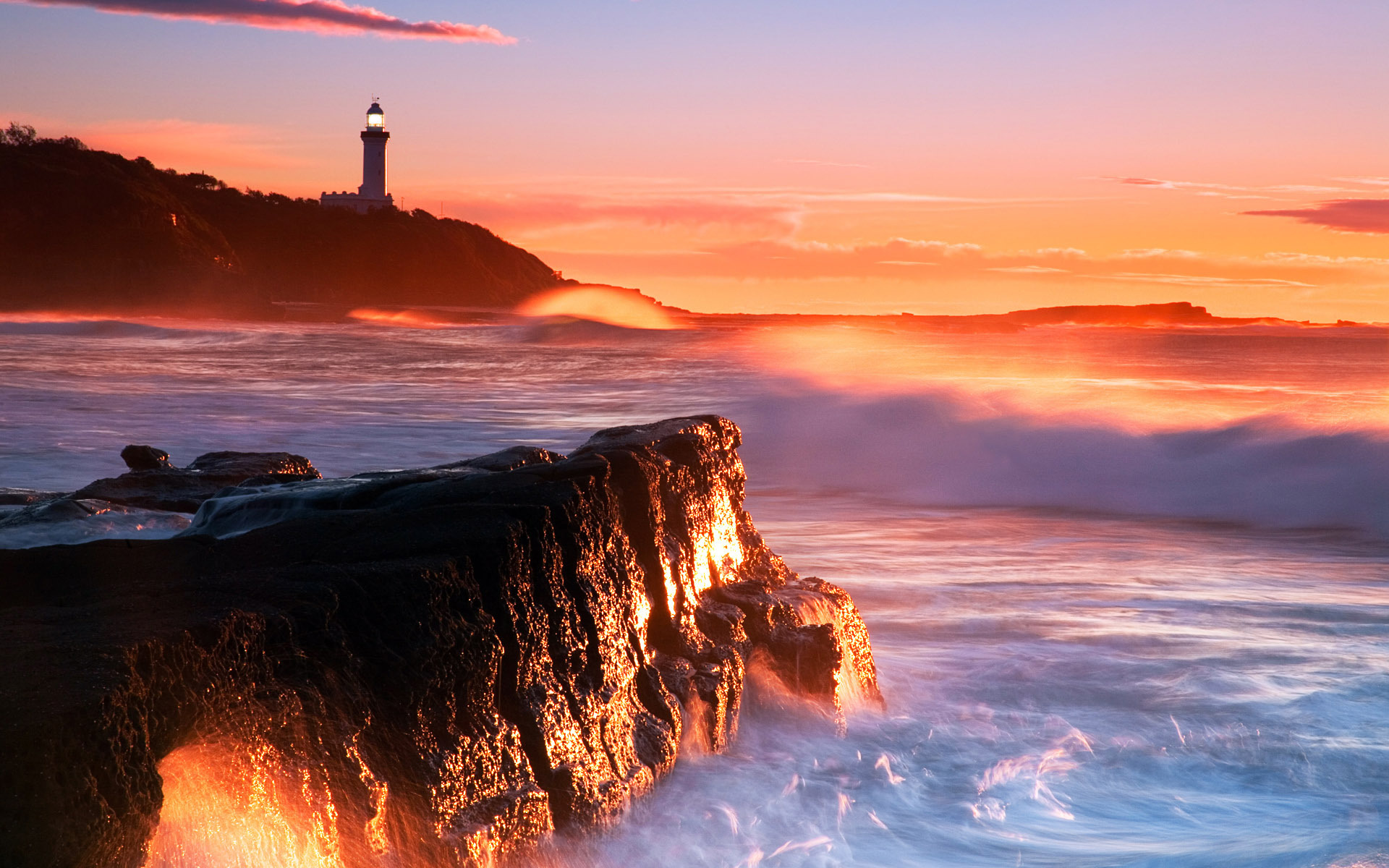 Lighthouse Sunset Wallpaper High Quality Is Cool Wallpapers