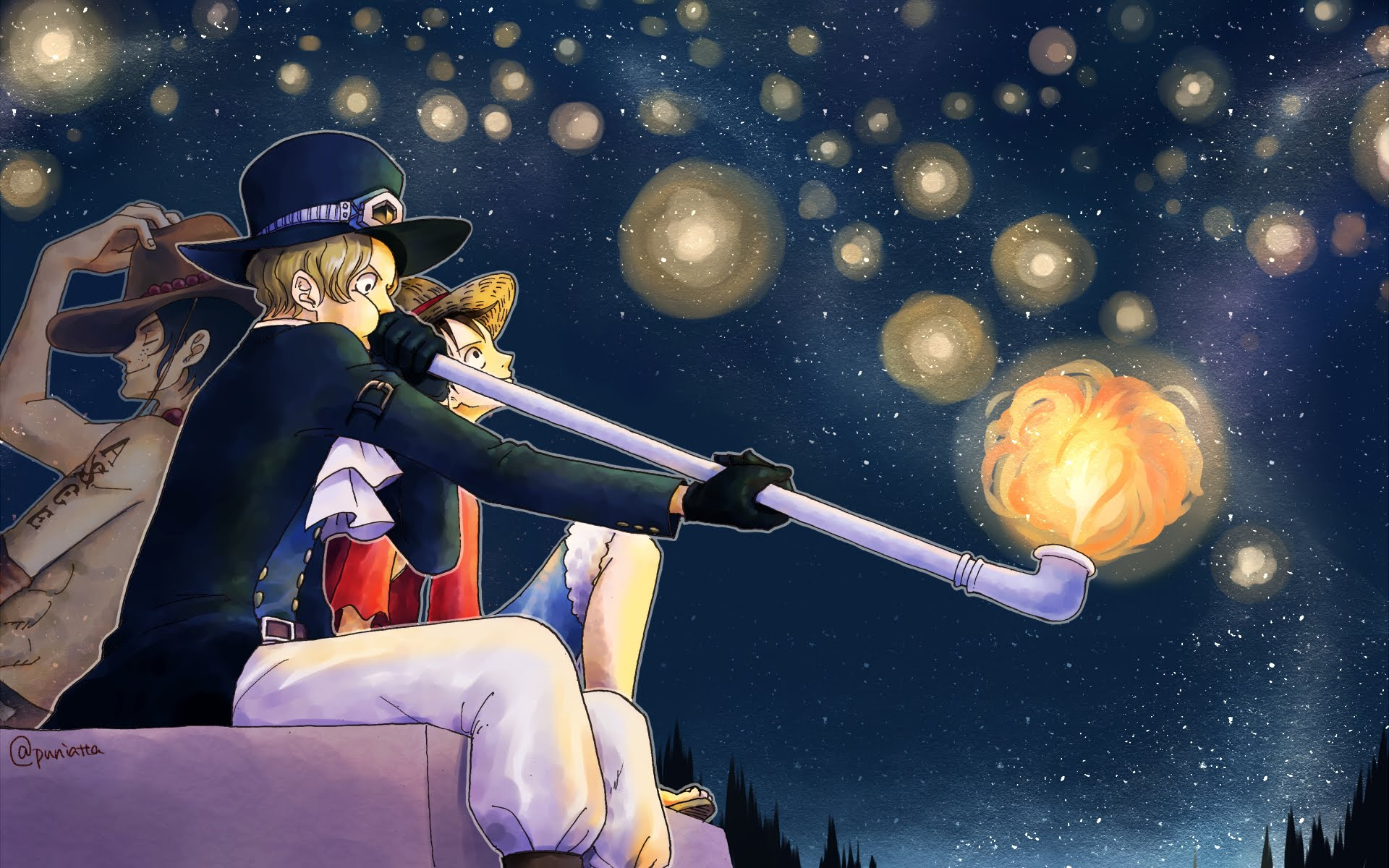 One Piece Luffy And Ace Picture Is Cool Wallpapers