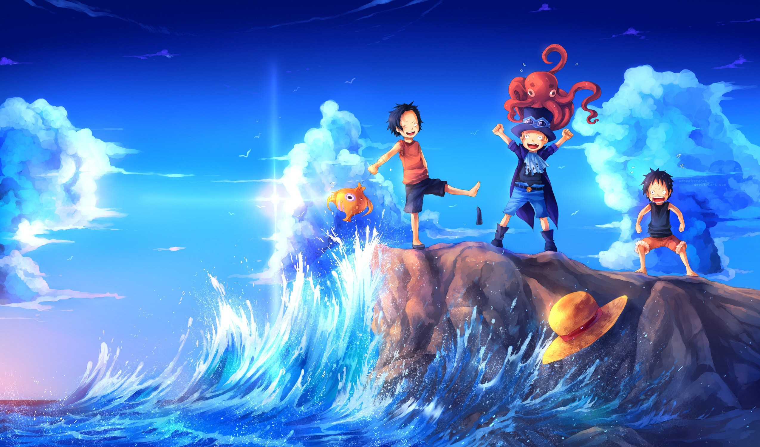One Piece Luffy And Ace Wallpaper Background Is Cool Wallpapers