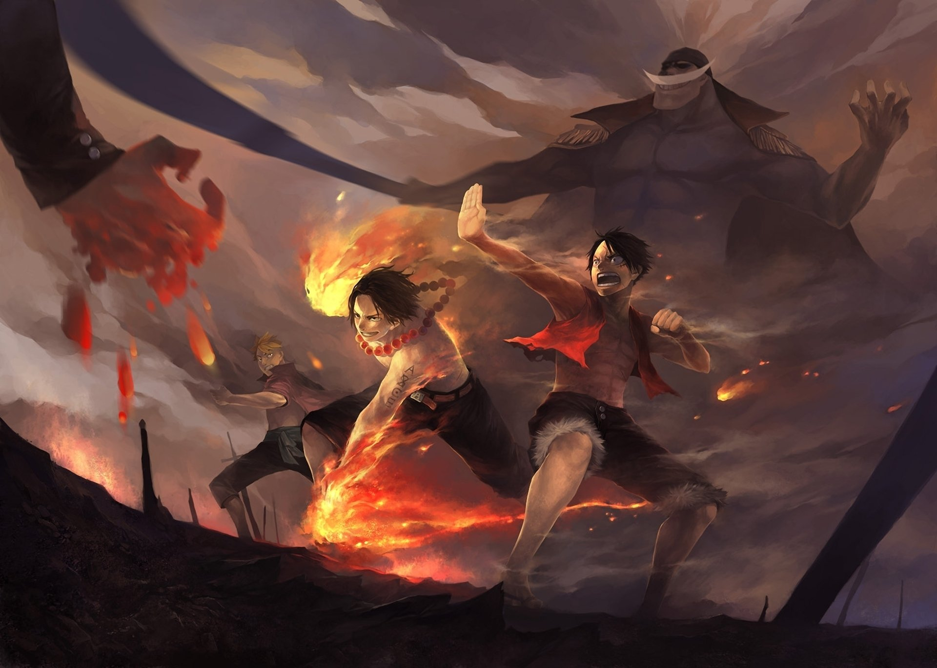 One Piece Luffy And Ace Wallpaper High Definition Is Cool Wallpapers