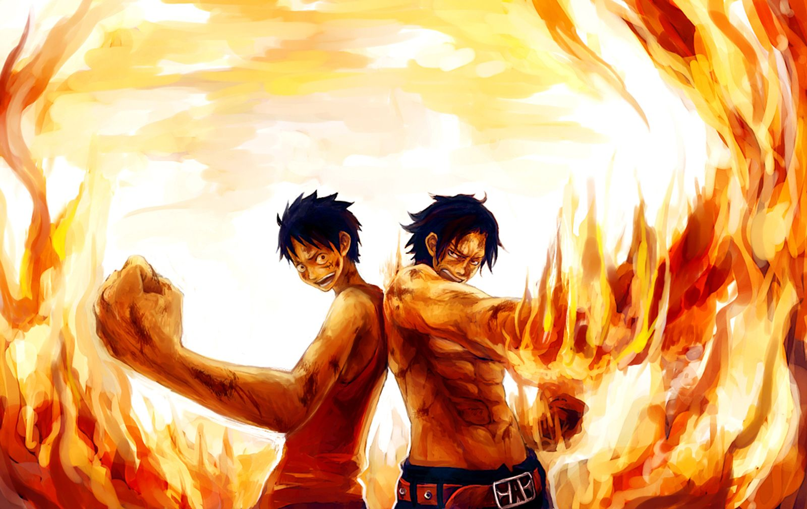 One Piece Luffy And Ace Wallpapers For Iphone Is Cool Wallpapers