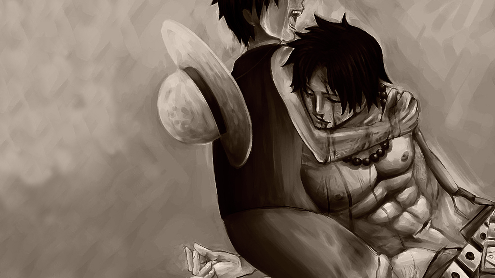One Piece Luffy And Ace Wallpapers Phone Is Cool