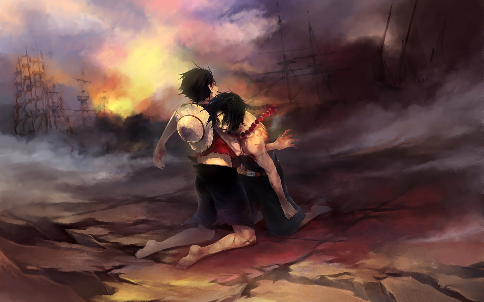 One Piece Luffy And Ace Wallpapers Picture Is Cool Wallpapers