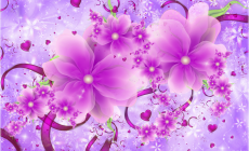 Pink Flower Designs Background Is Cool Wallpapers