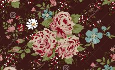 Pink Flower Pattern Wallpaper Is Cool Wallpapers