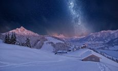 Snow Night Wallpaper High Resolution Is Cool Wallpapers