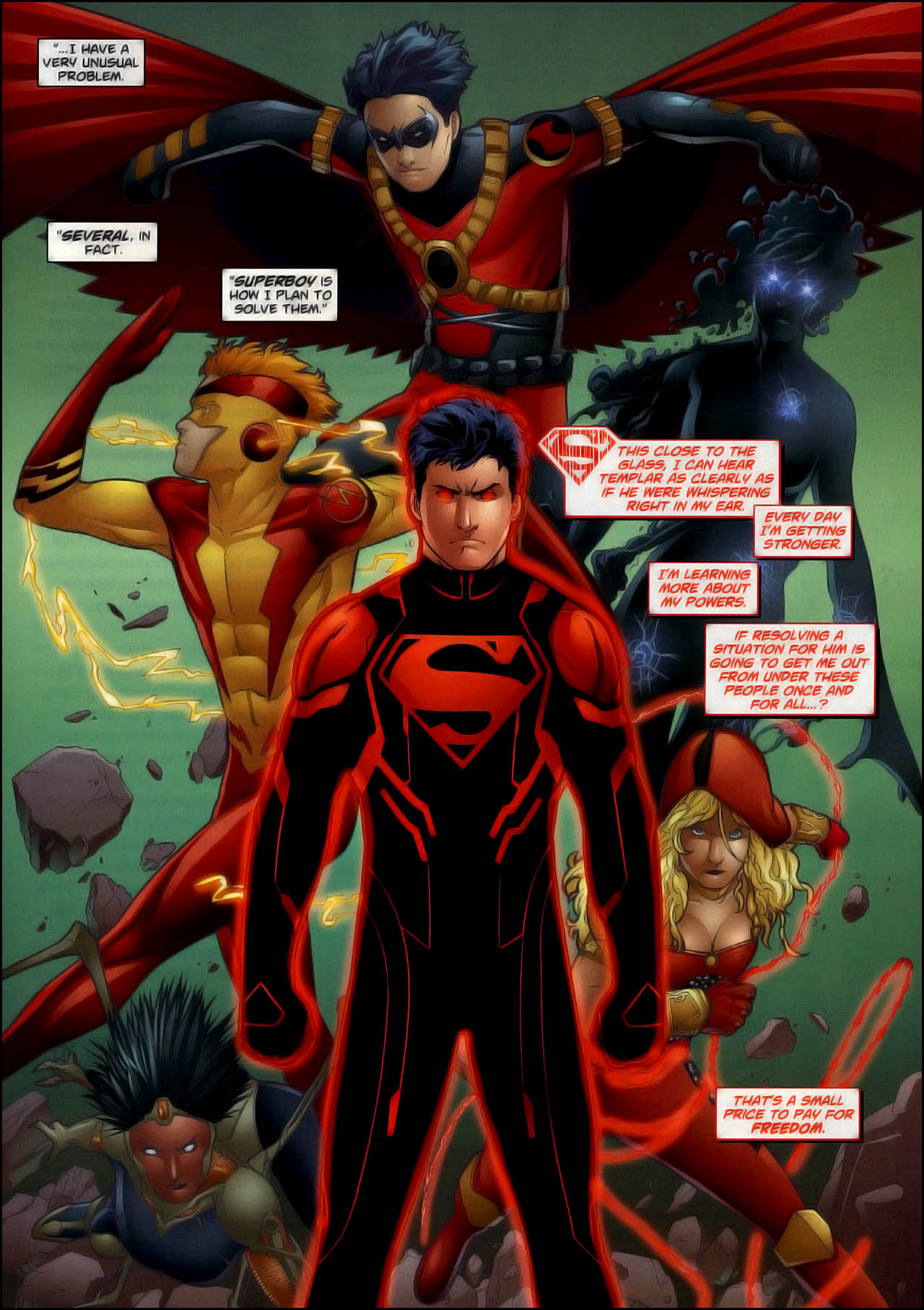 Superboy New 52 Wallpaper For Iphone Is Cool Wallpapers