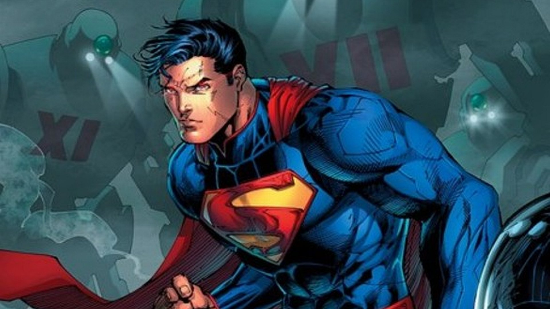 Superman New 52 Background Is Cool Wallpapers
