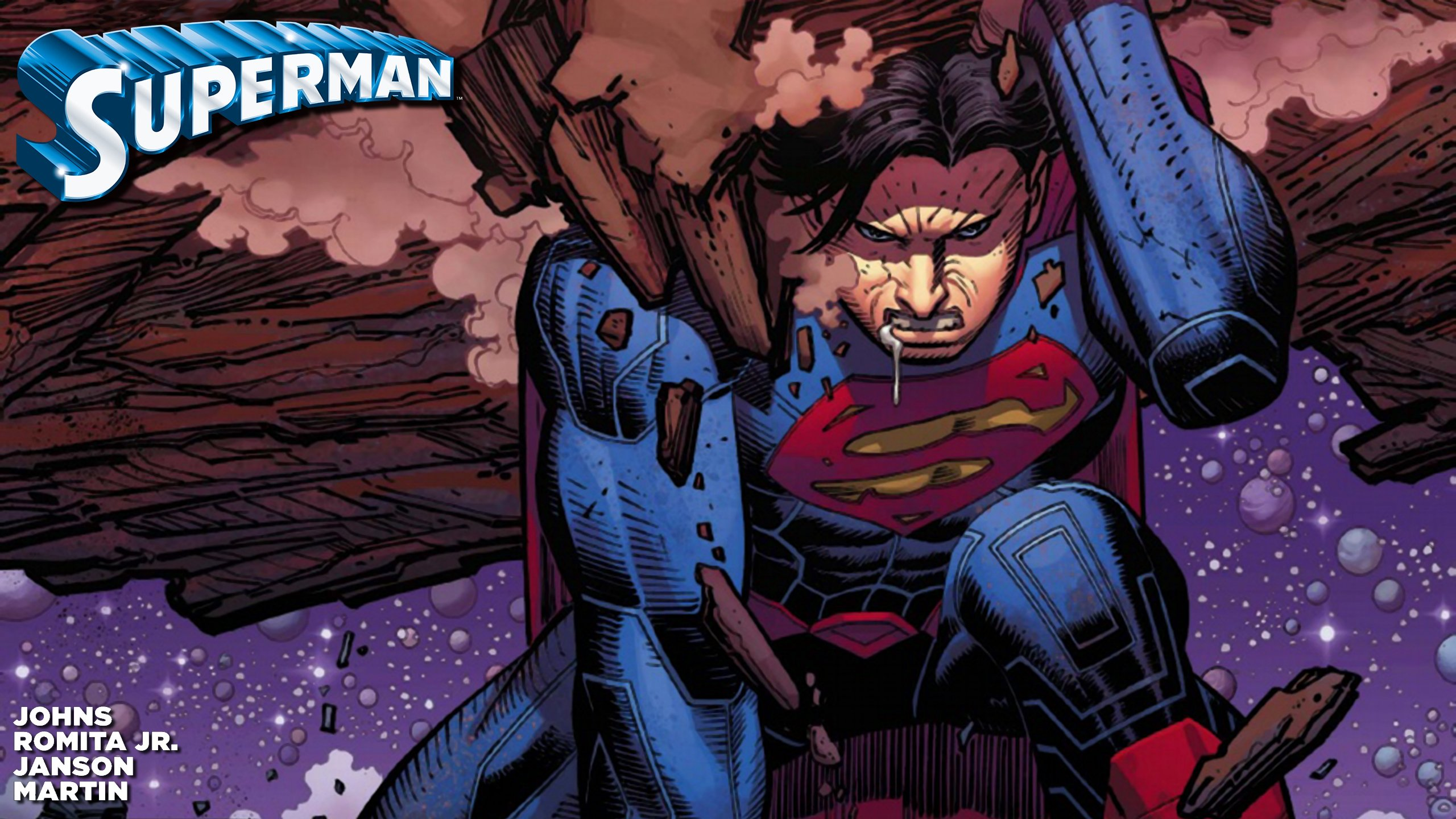 Superman new 52 wallpaper