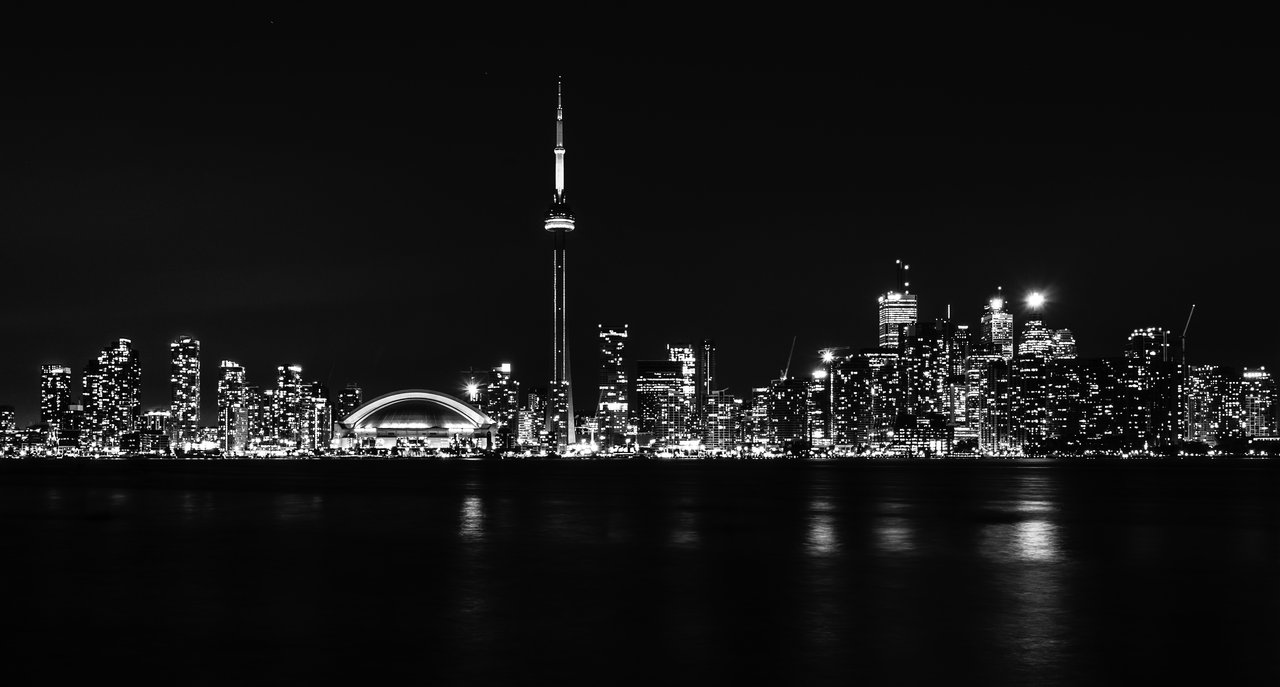 Toronto Black And White Picture Is Cool Wallpapers