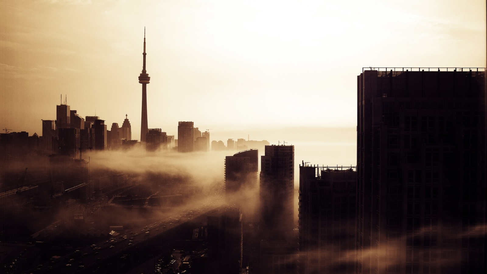 Toronto Black And White Wallpaper 1080p Is Cool Wallpapers