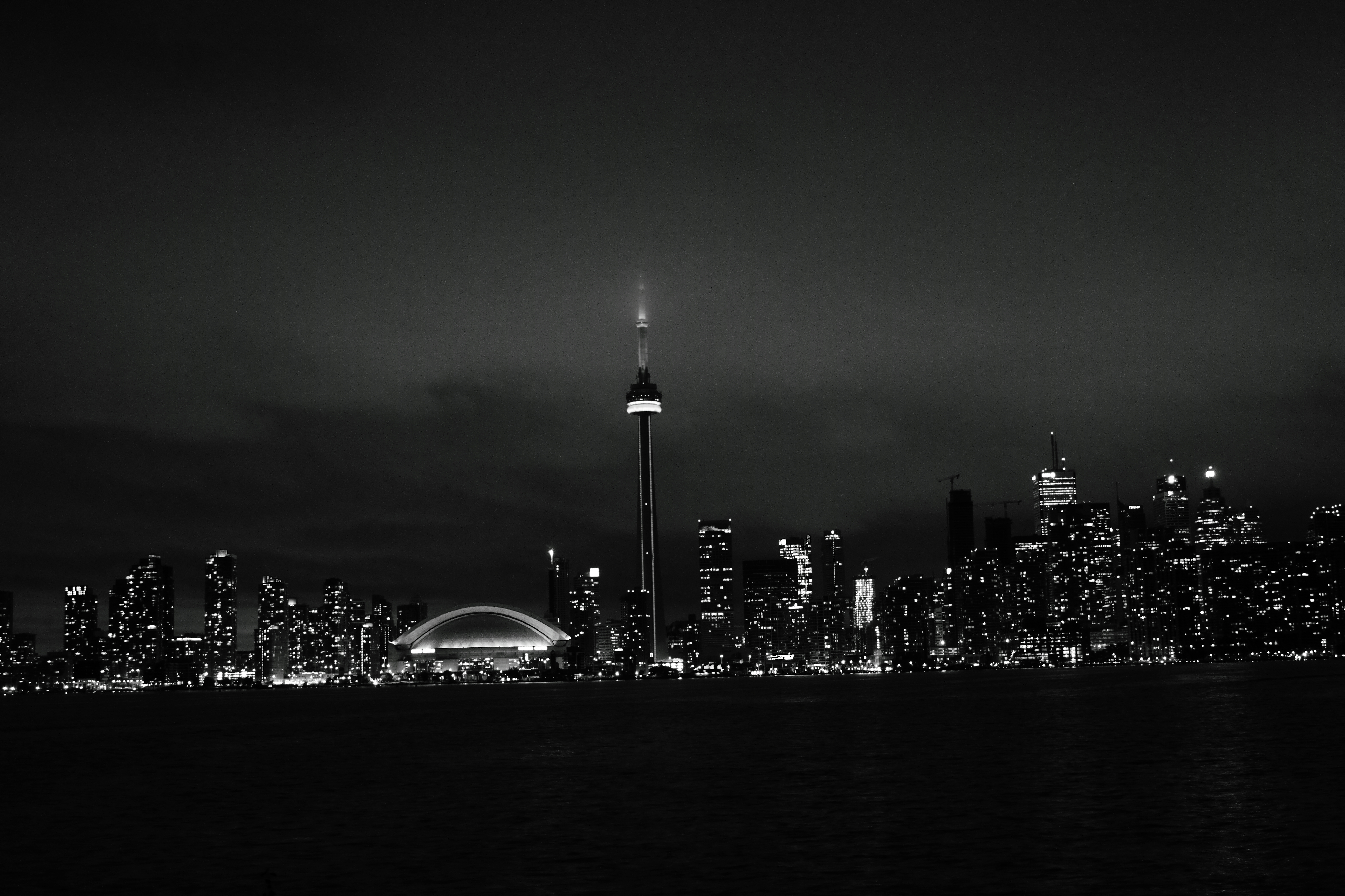 Toronto Black And White Wallpaper Is Cool Wallpapers