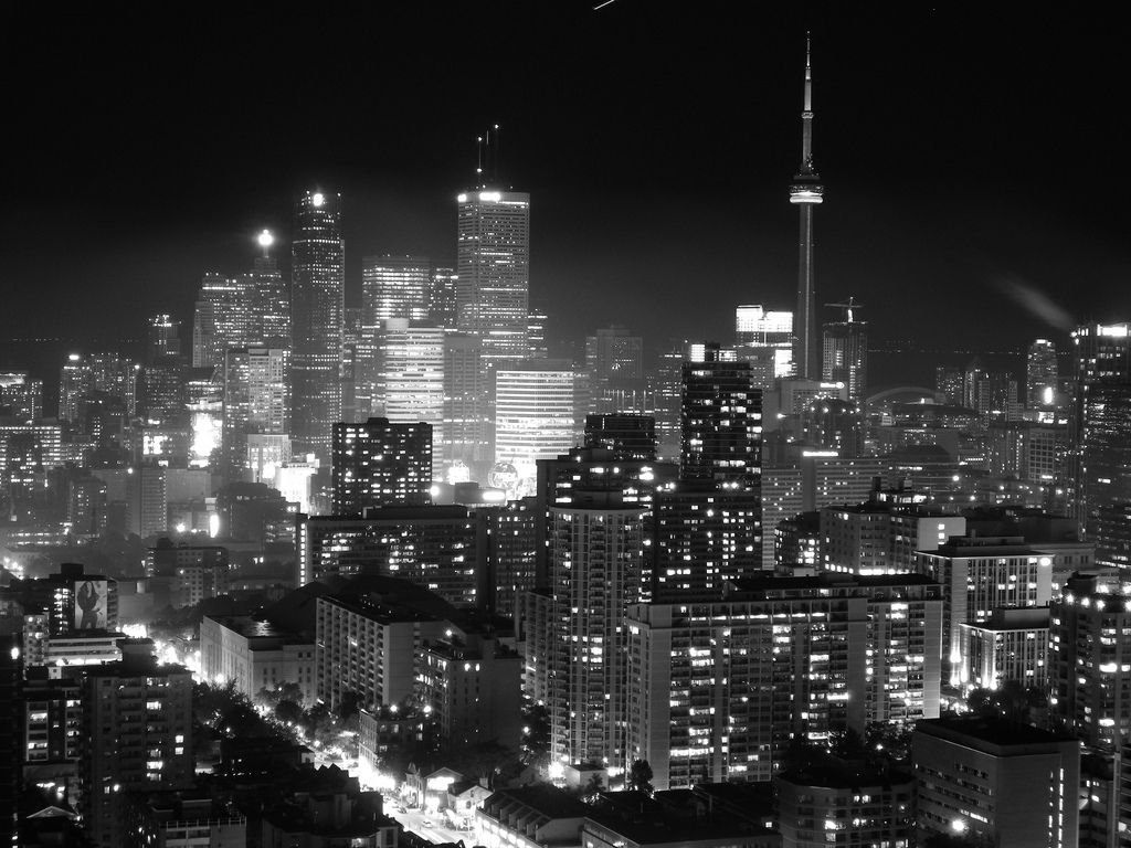 Toronto Black And White Wallpaper High Quality Resolution Is Cool Wallpapers