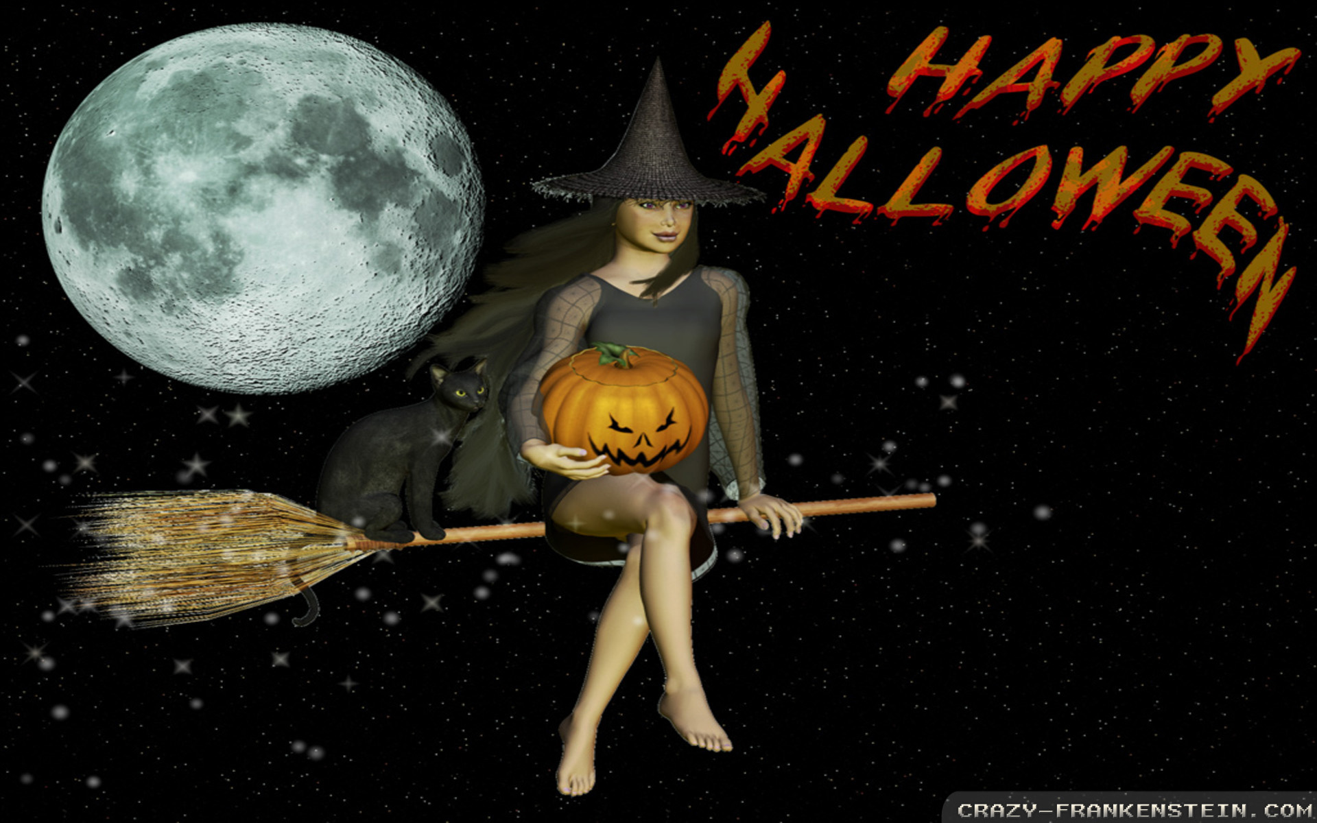 Vintage Halloween Witch Wallpapers Desktop Background Is Cool Wallpapers