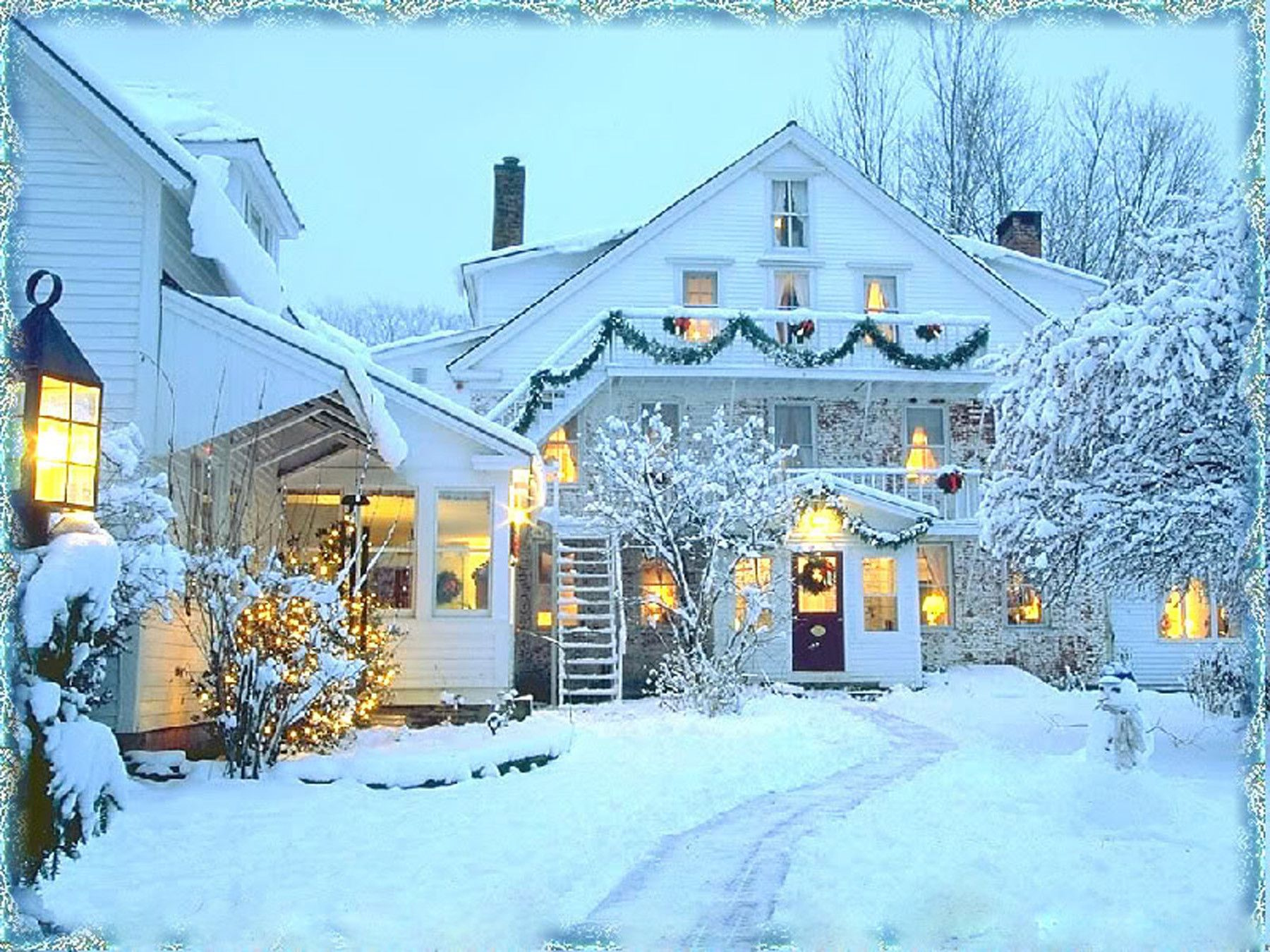 Winter Christmas Picture Is Cool Wallpapers