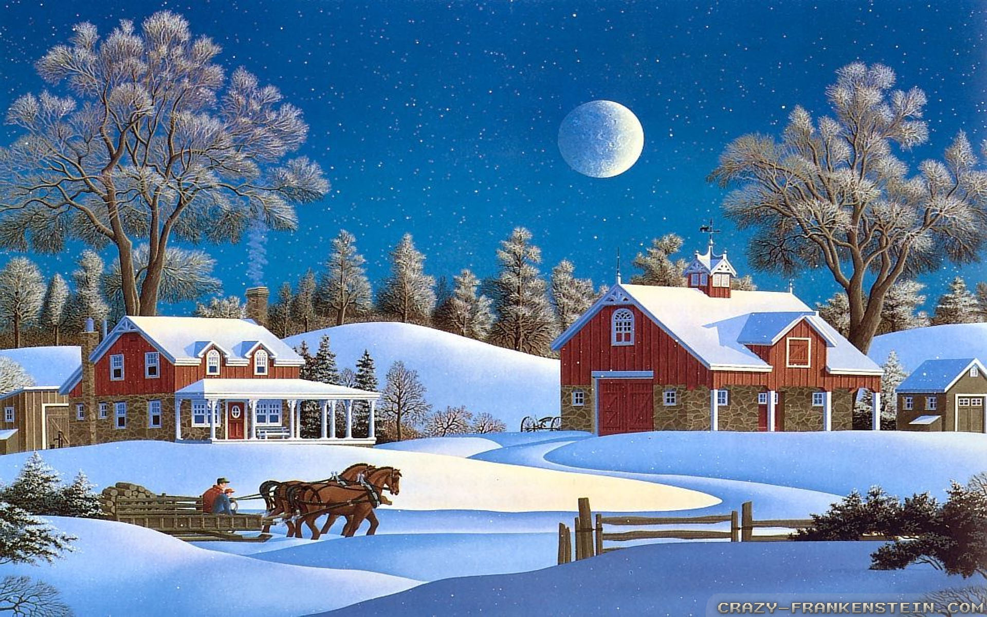 Winter Christmas Wallpapers 1080p Is Cool Wallpapers