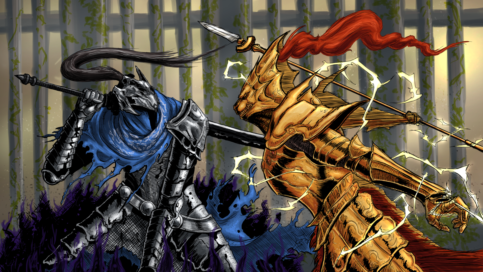 Dark Souls Ornstein Wallpaper High Quality Resolution Is Cool Wallpapers