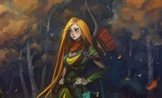 Dota 2 Windrunner Wallpaper Background Is Cool Wallpapers