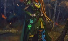 Dota 2 Windrunner Wallpapers Desktop Background Is Cool Wallpapers