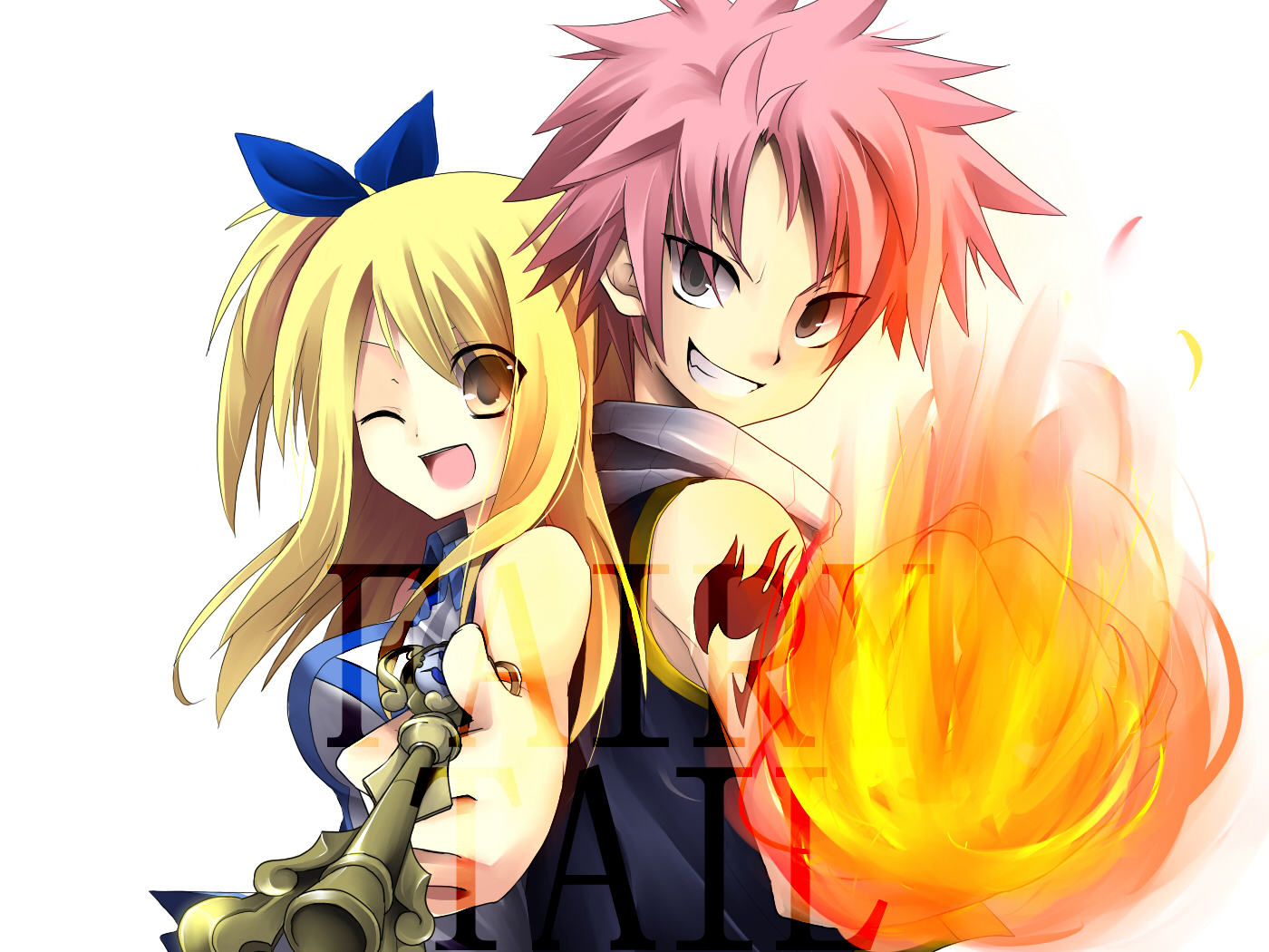 Fairy Tail Natsu And Lucy Wallpapers Mobile Is Cool Wallpapers