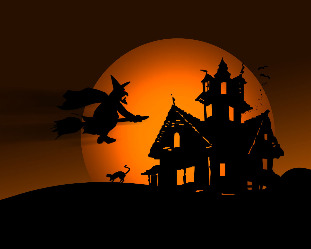 Halloween Witch Background Is Cool Wallpapers