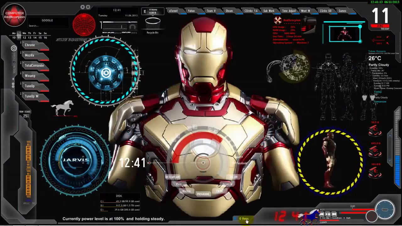 Iron Man Jarvis Wallpaper Wide Is Cool Wallpapers