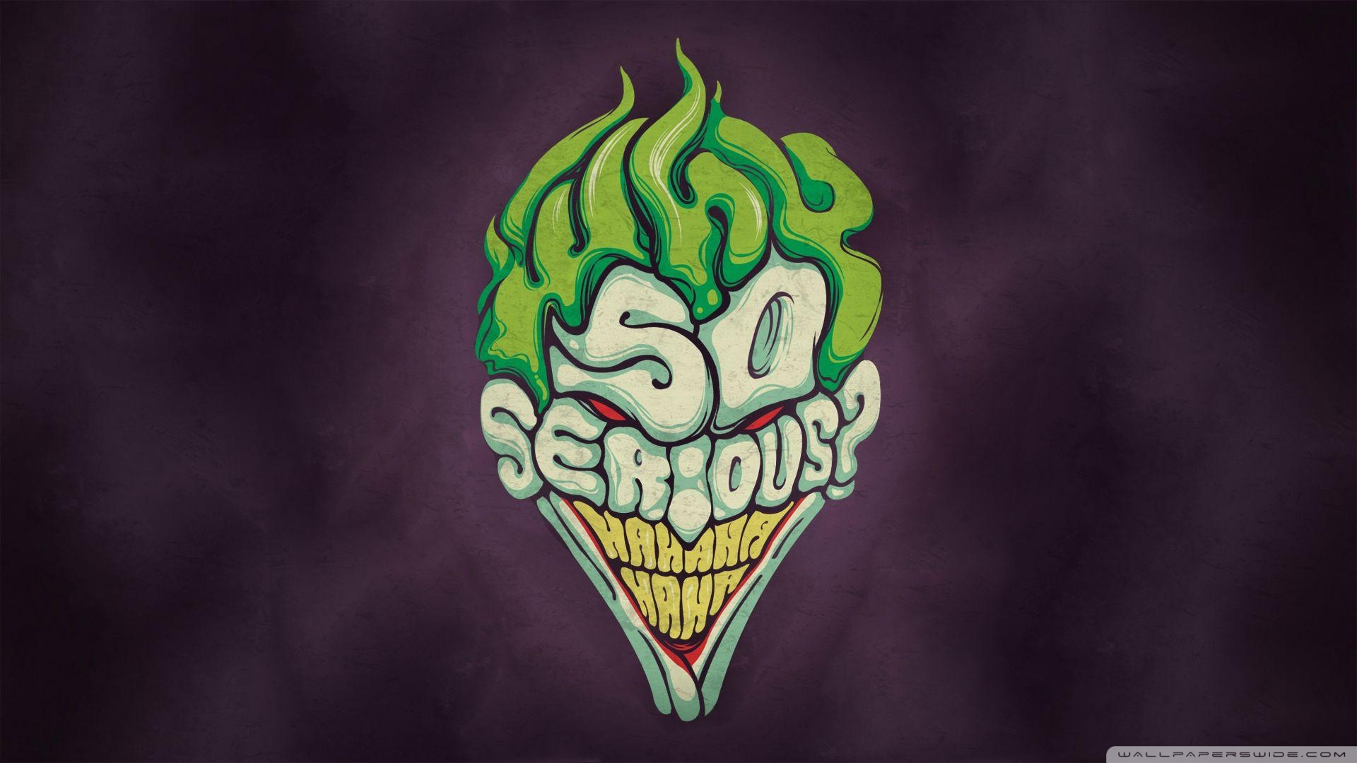 Joker Why So Serious Drawings Wallpaper High Quality Resolution Is Cool Wallpapers