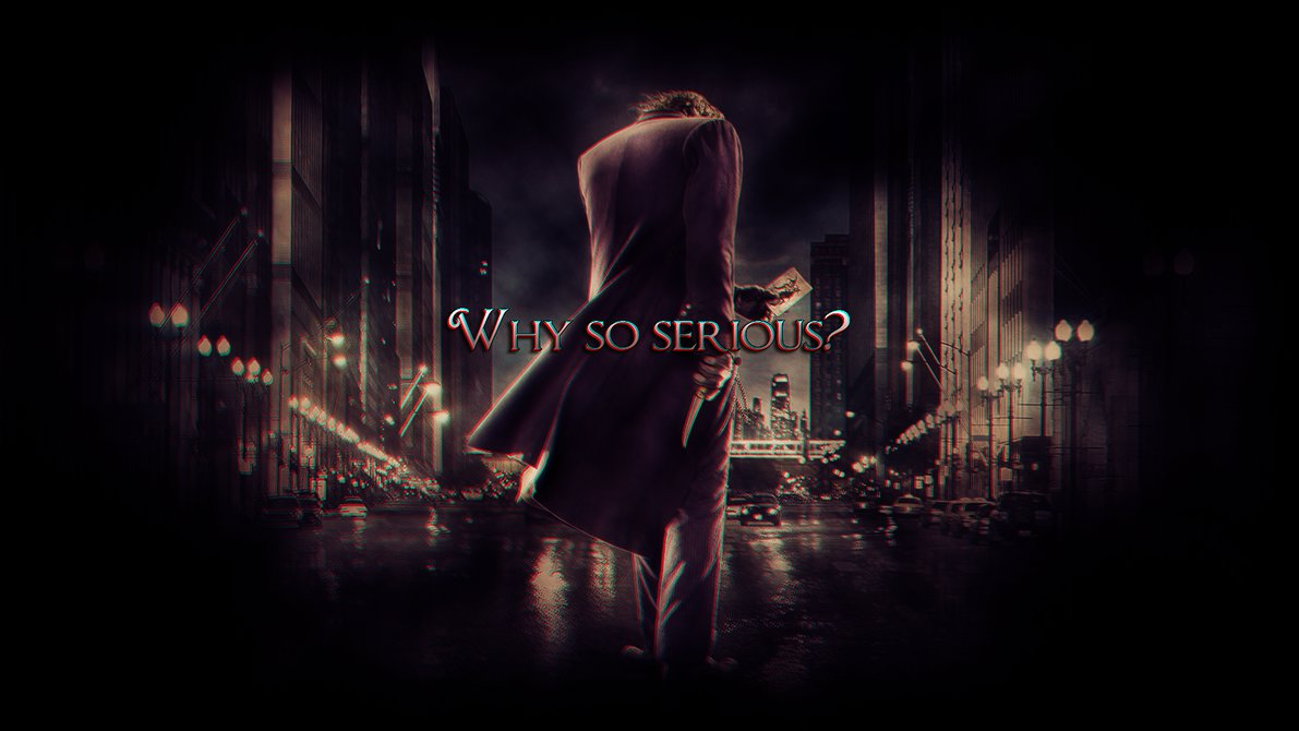 Joker Why So Serious Wallpapers Hd Is Cool Wallpapers