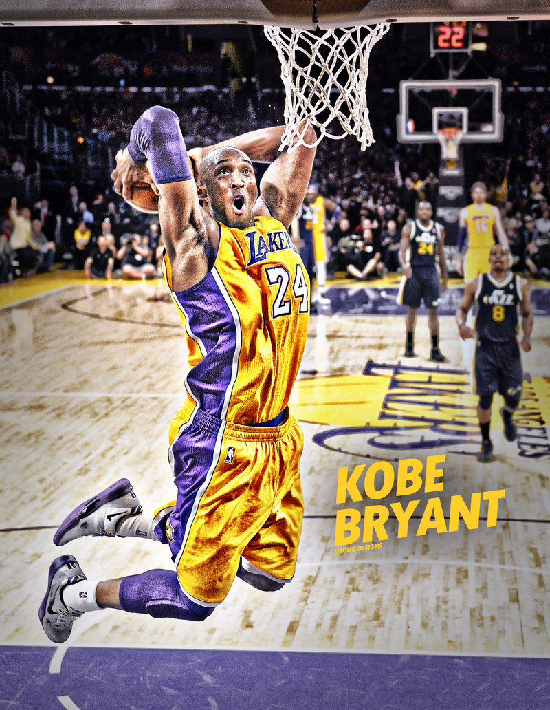Kobe Bryant Dunk On Lebron James Wallpaper For Android Is Cool Wallpapers