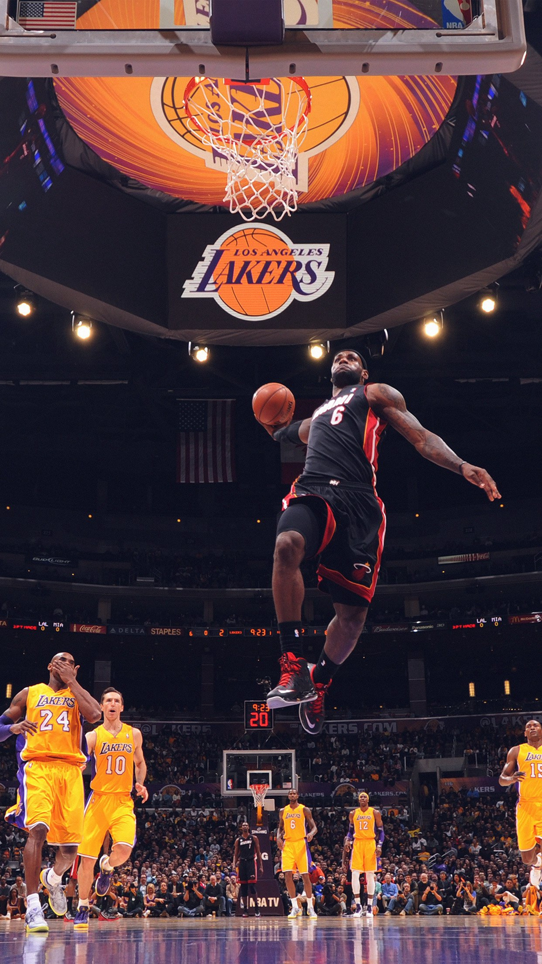 Kobe Bryant Dunk On Lebron James Wallpaper Full Hd Is Cool Wallpapers