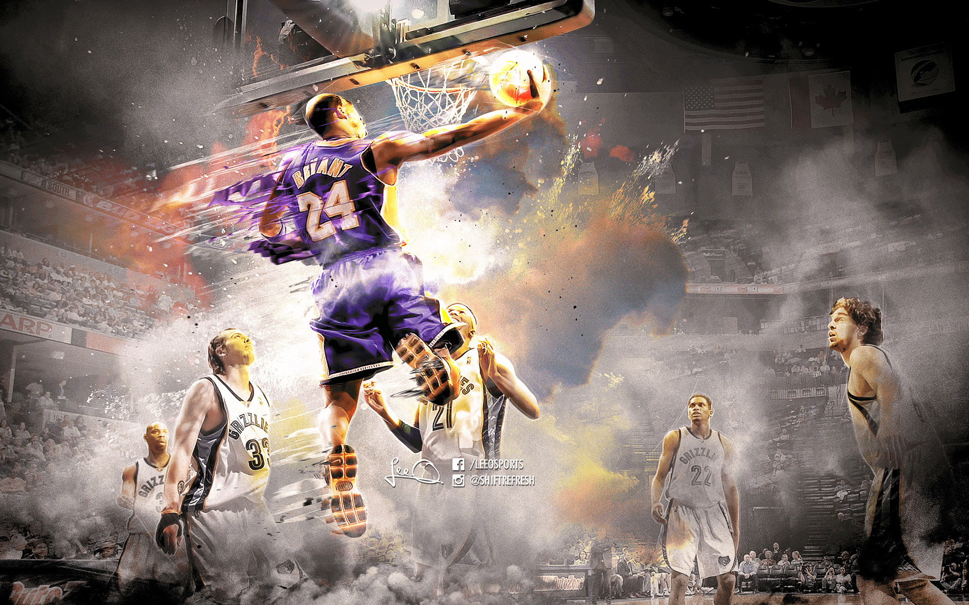 Kobe Bryant Dunk Wallpaper Images Is Cool Wallpapers