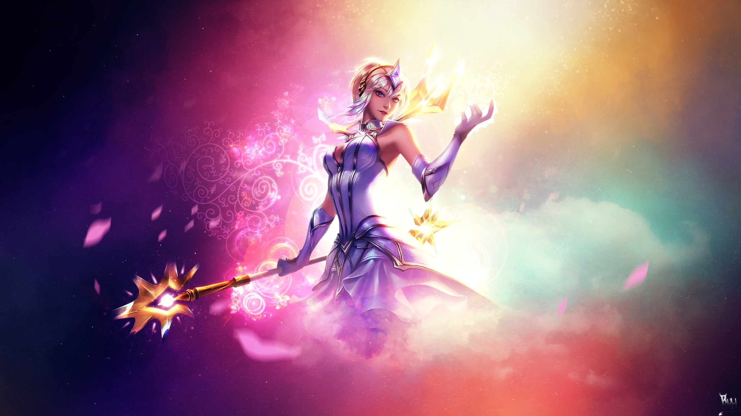 League Of Legends Elementalist Lux Wallpaper High Quality Resolution Is Cool Wallpapers