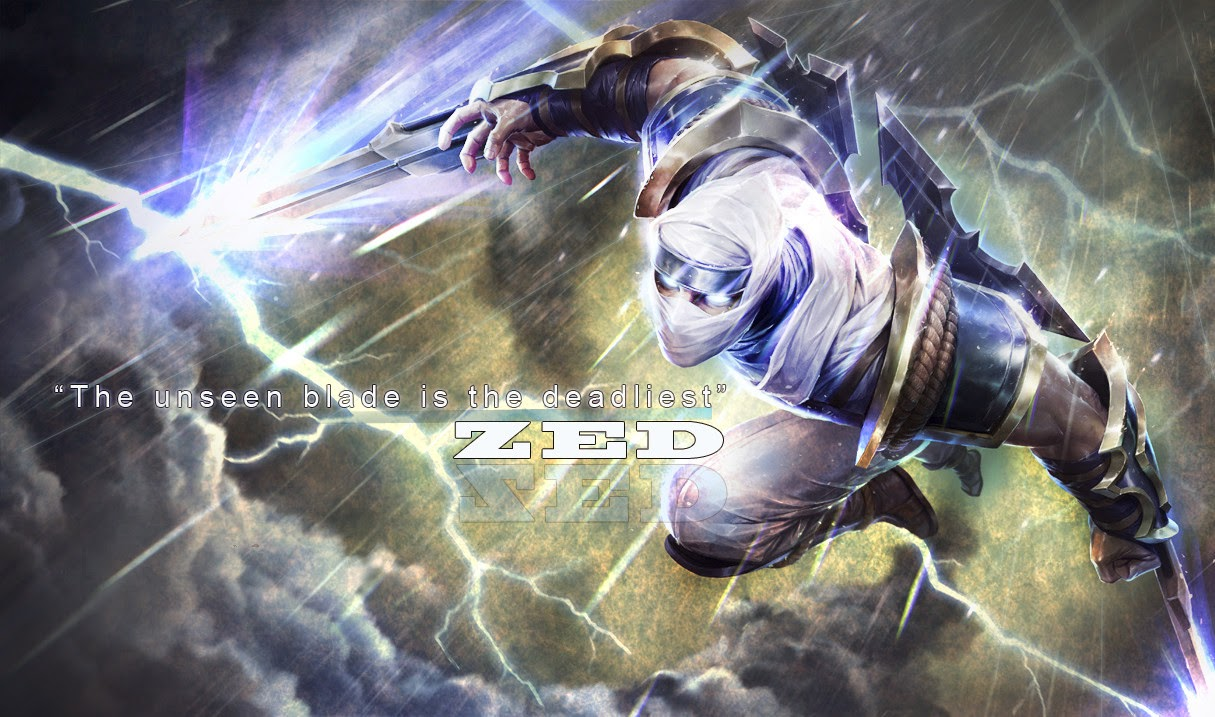 League Of Legends Shockblade Zed Image Is Cool Wallpapers
