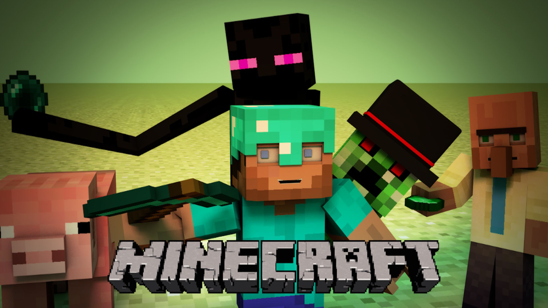 Minecraft Mobs Wallpapers Desktop Background Is Cool Wallpapers